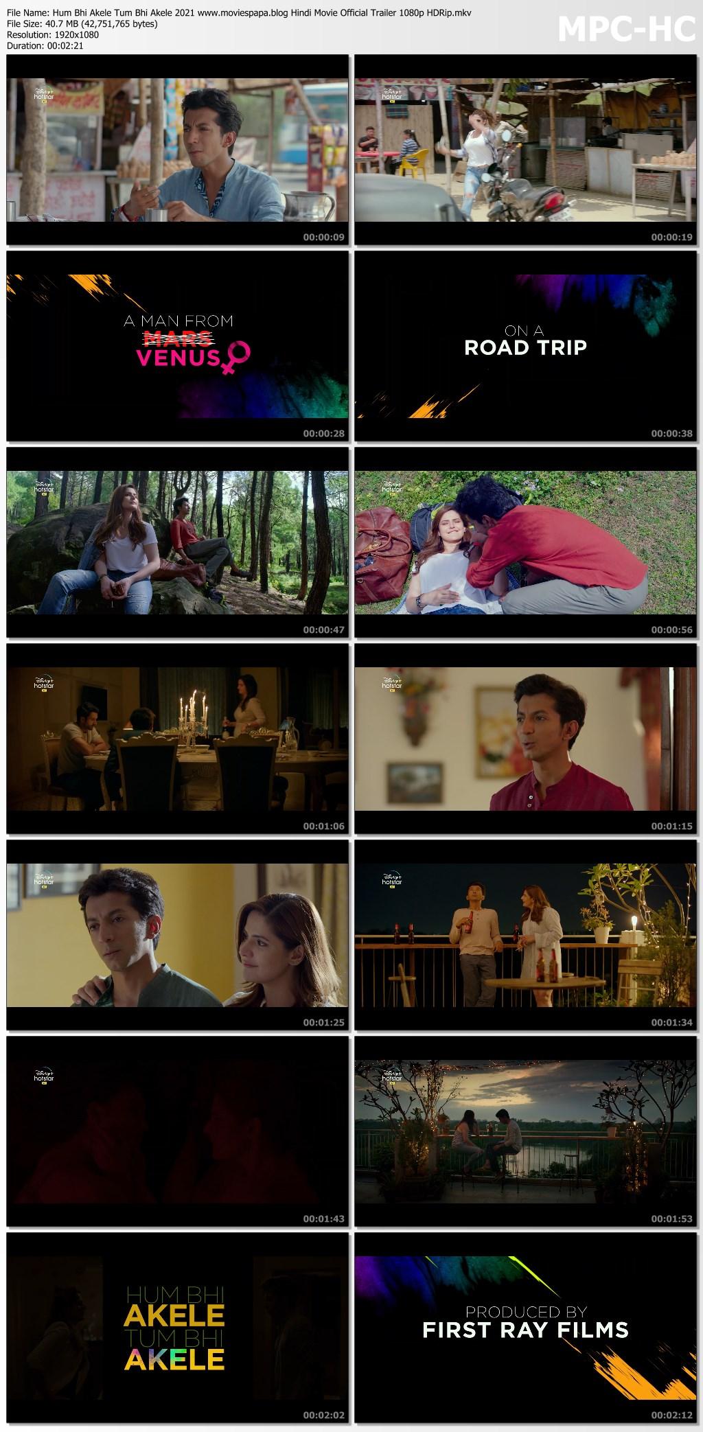 Hum Bhi Akele Tum Bhi Akele 2021 screenshot HDMoviesFair