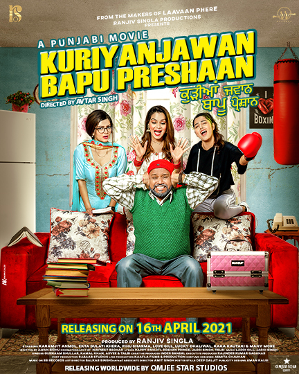 Kuriyan Jawan Bapu Preshaan 2021 Punjabi 1080p AMZN HDRip 1.4GB Download