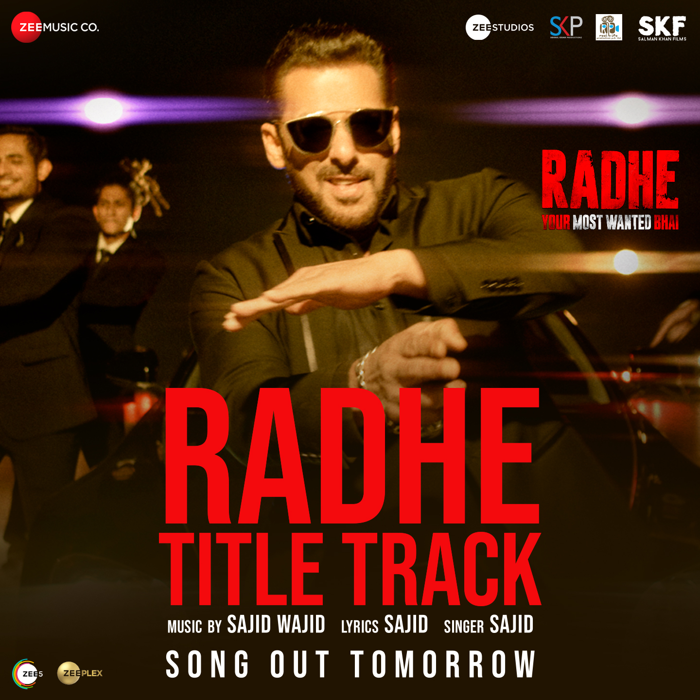 Radhe Title Track (Radhe 2021) Hindi Movie Video Song 1080p HDRip Download