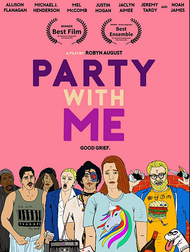 Party with Me 2021 English 720p HDRip 800MB Download