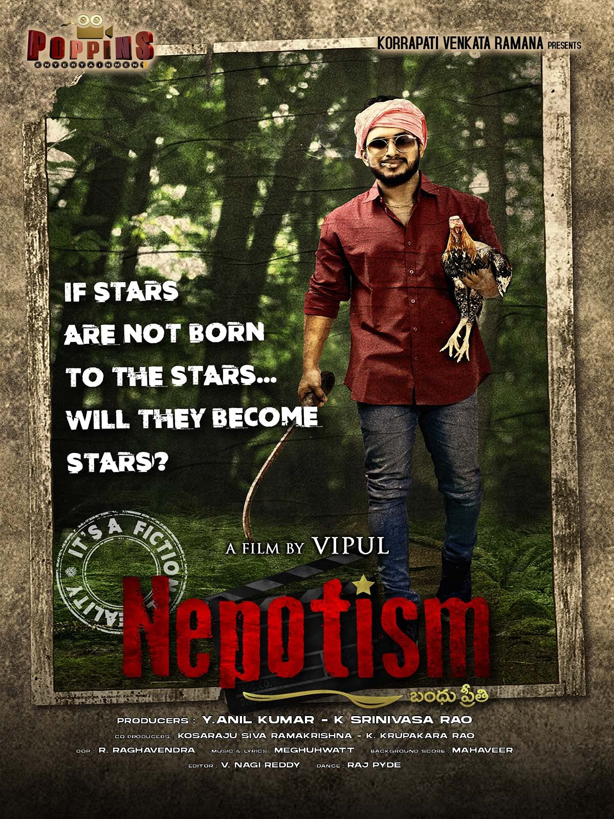 Download Nepotism 2021 Telugu 480p HDRip ESub 300MB