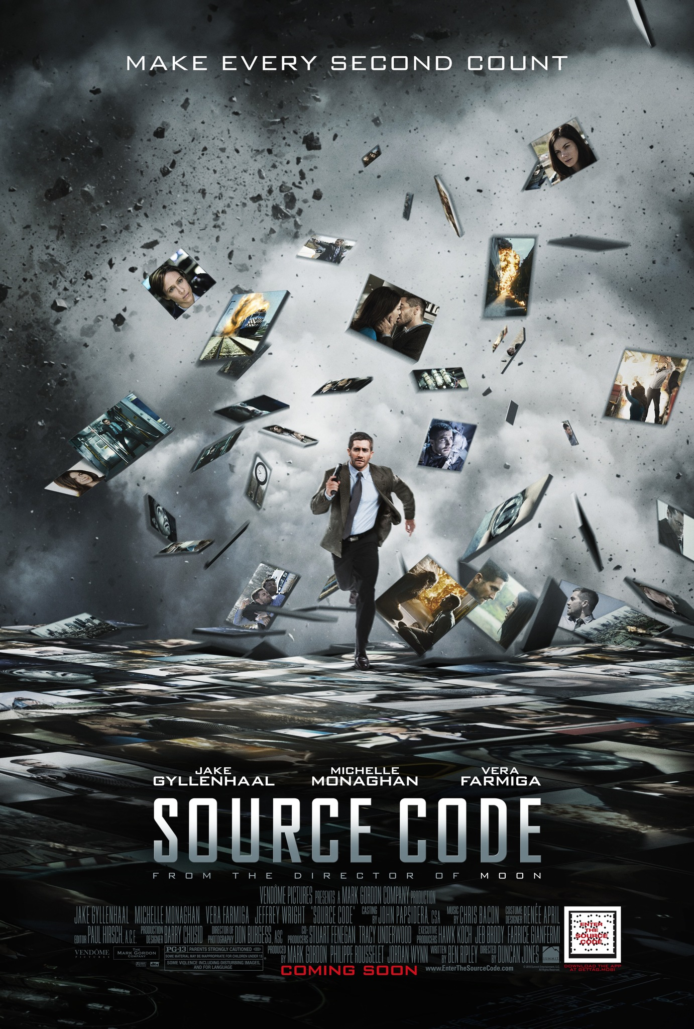Source Code 2011 Dual Audio Hindi 350MB BluRay 480p ESub Download