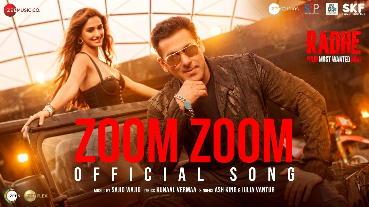 Zoom Zoom (Radhe 2021) Hindi Movie Video Song 1080p HDRip 64MB Download