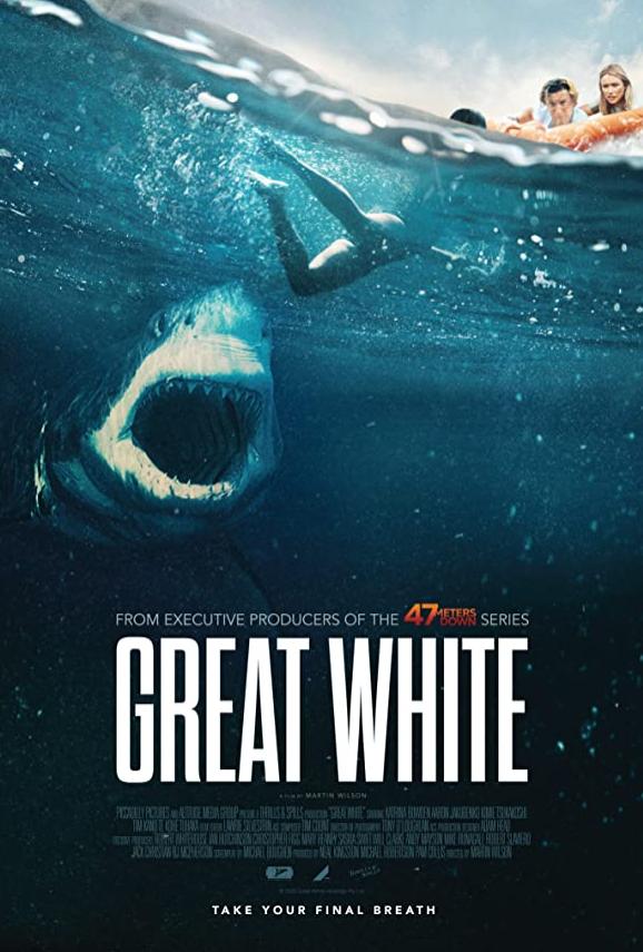 Great White 2021 English 250MB HDCAMRip Download