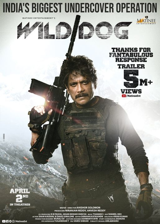 Wild Dog (2021) Hindi Dual Audio HQ 720p HDRip x264 AAC 900MB Download