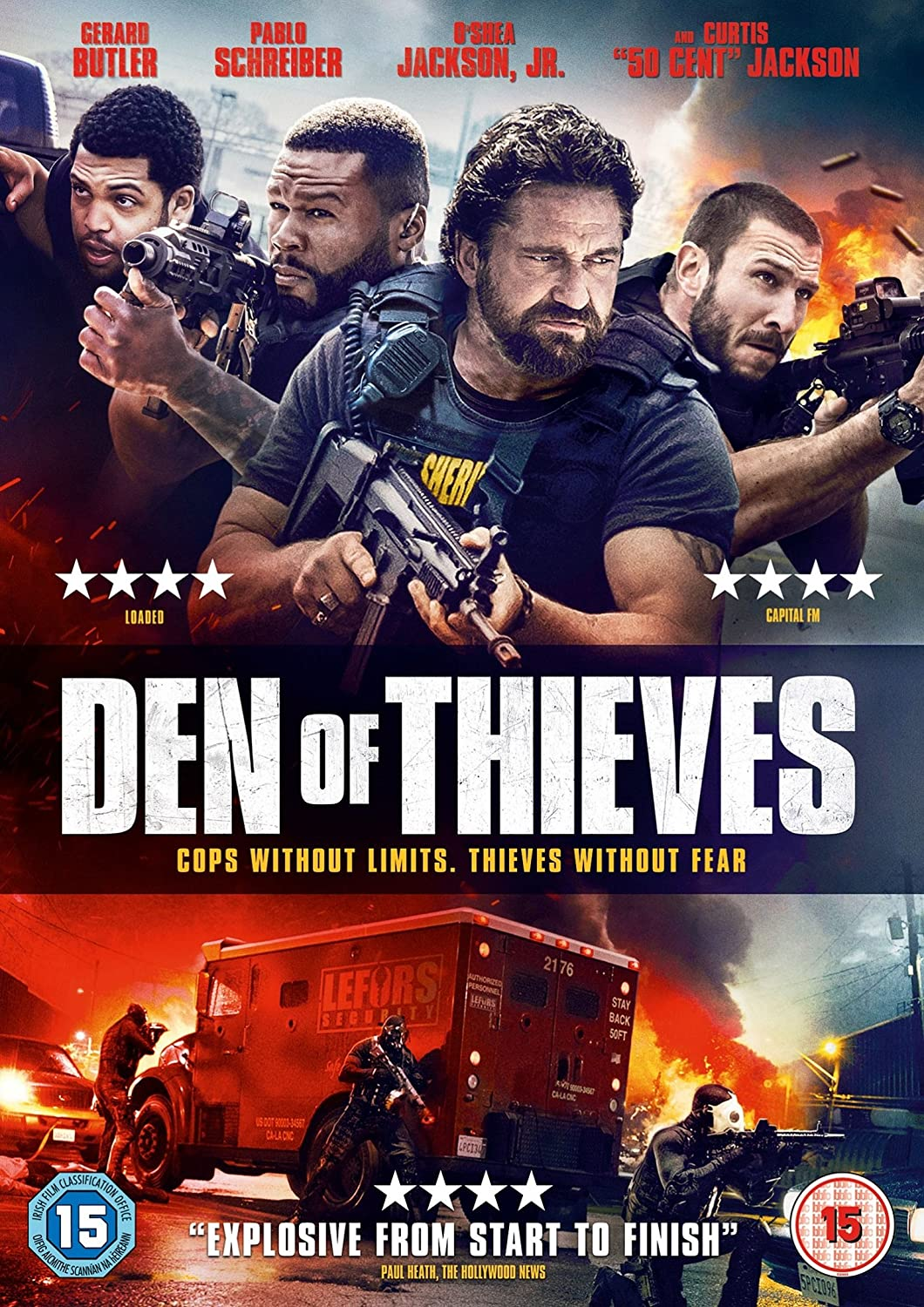 Den of Thieves 2018 Hindi ORG Dual Audio 720p BluRay ESubs 1.11GB Download