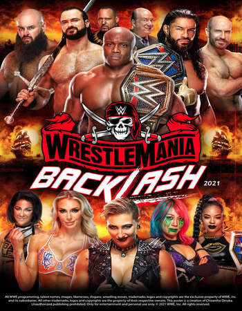 WWE WrestleMania Backlash (16th May 2021) English HDRip 550MB Download