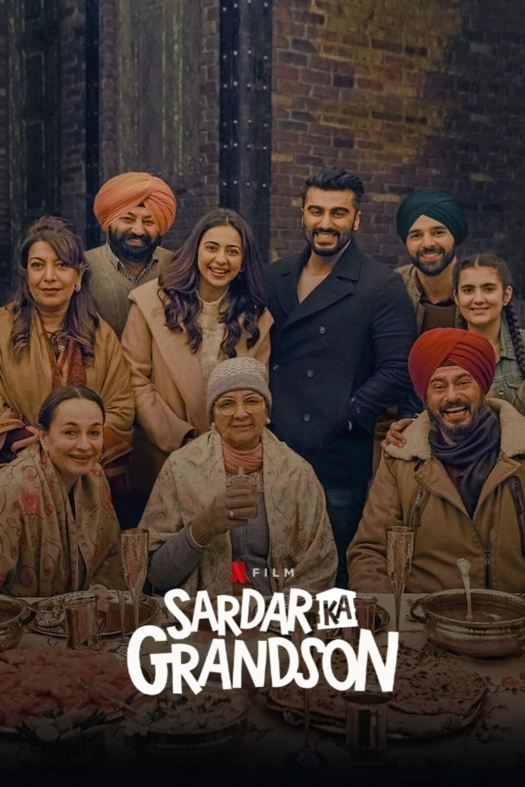 Download Sardar Ka Grandson 2021 Hindi Movie 720p NF HDRip MSub 1.3GB