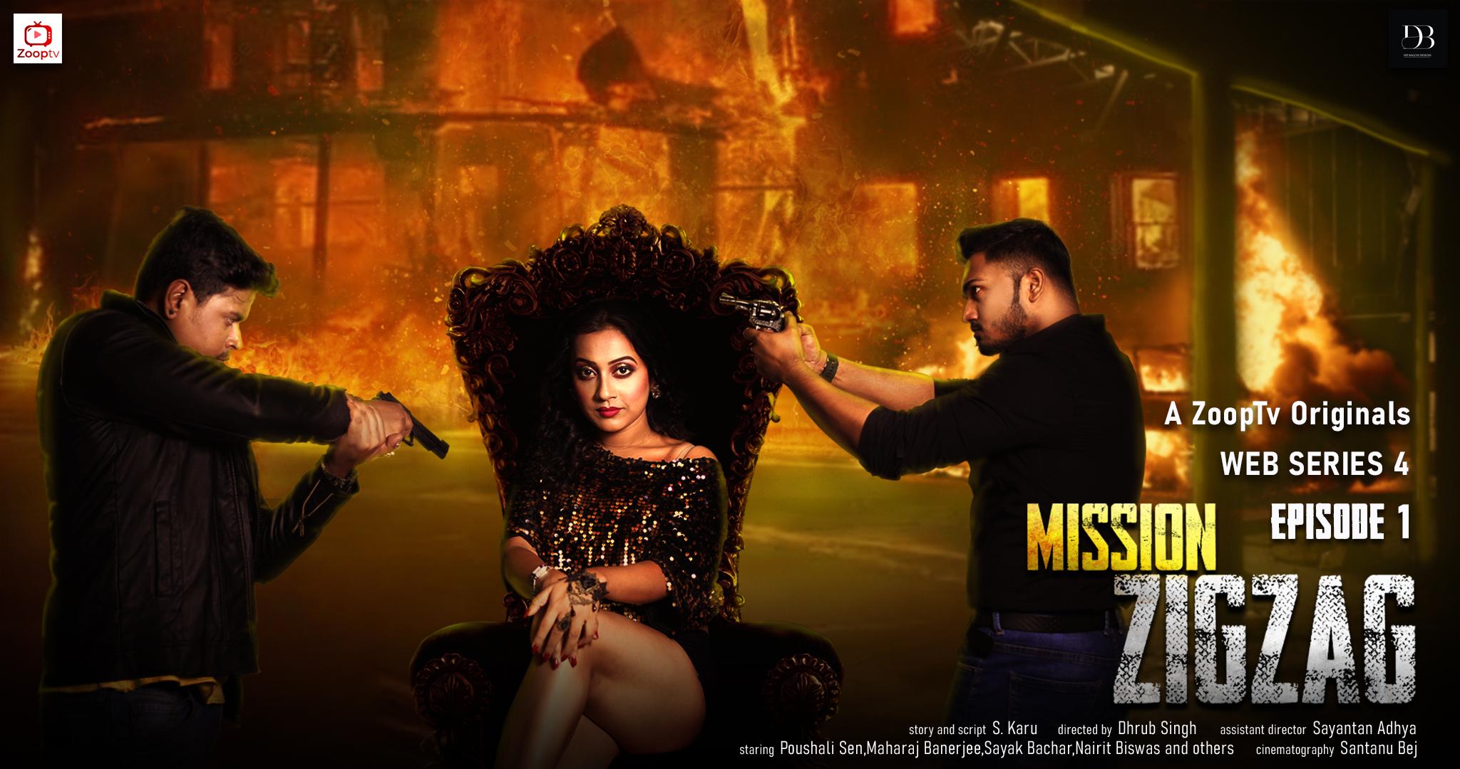 18+ Mission Zigzag Part 1 2021 ZoopTv Hindi Short Film 720p HDRip 100MB Download