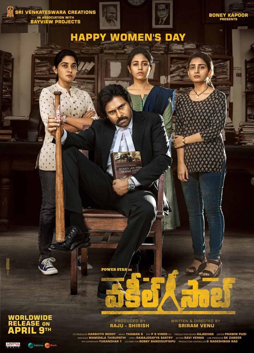 Vakeel Saab (2021) Hindi Dubbed Movie HQ HDRip 400MB Download