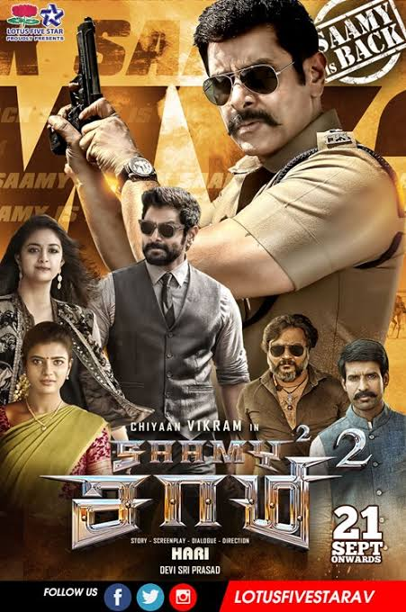 Saamy Square (2018) Hindi Dual Audio ORG UNCUT 720p HDRip 1.7GB Download