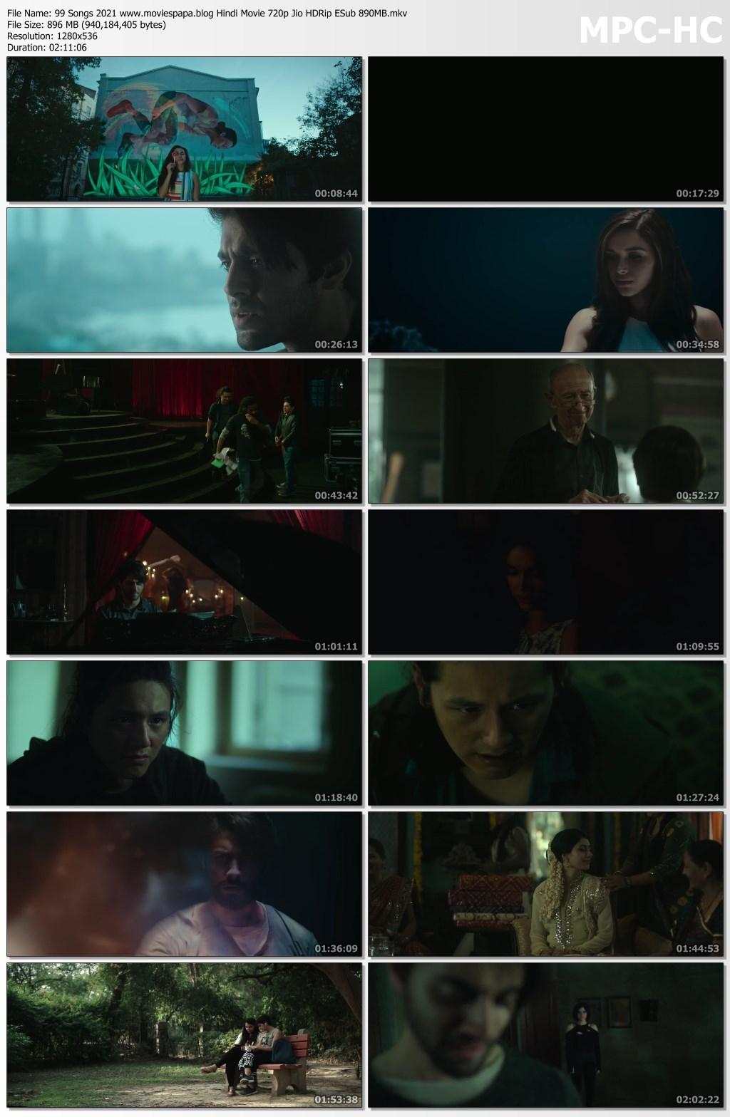 99 Songs 2021 screenshot HDMoviesFair