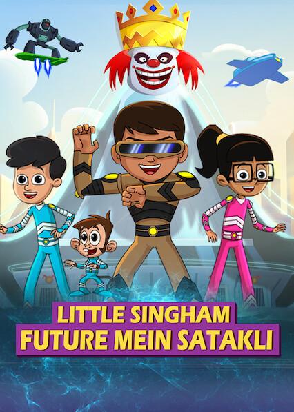Little Singham Future mein Satakli (2021) HDRip Hindi Movie Watch Online Free