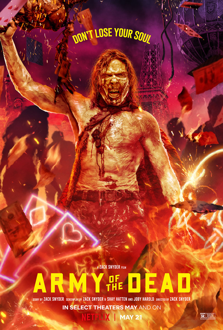 Army of the Dead (2021) Dual Audio Hindi ORG 1080p NF HDRip x264 AAC 2.1GB Download