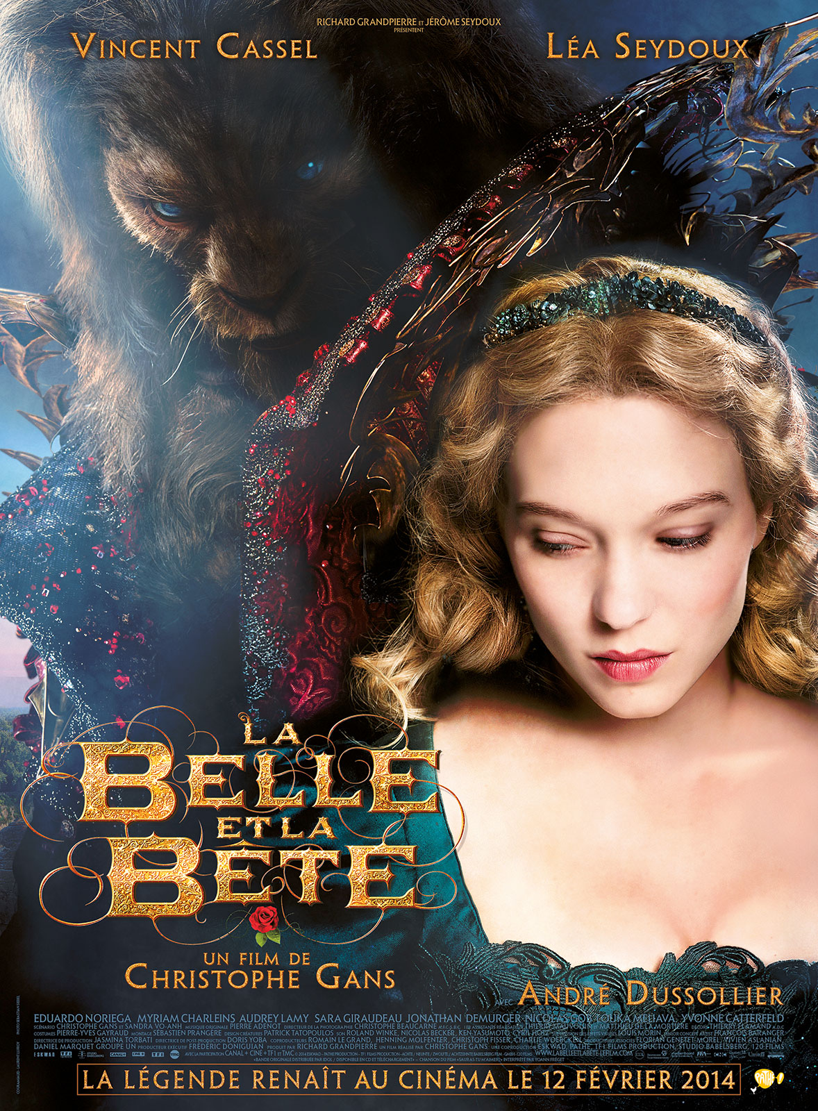 Beauty and the Beast 2014 Hindi Dual Audio 480p BluRay 400MB Download