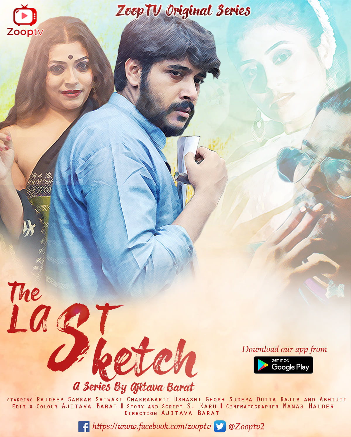 18+ The Last Sketch 2021 S01 Hindi Complete Zooptv Web Series 720p HDRip 300MB Watch Online and Download