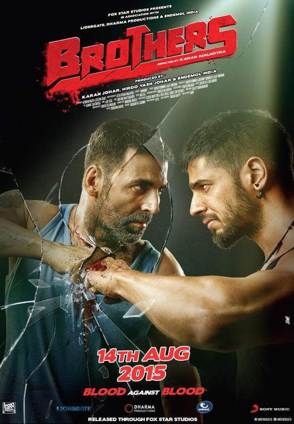 Brothers 2015 Hindi Movie 720p BluRay 1.4GB Download
