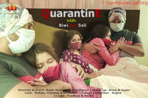 18+ Quarantine With Biwi And Sali 2021 11UpMovies Hindi Short Film 720p HDRip 170MB Download