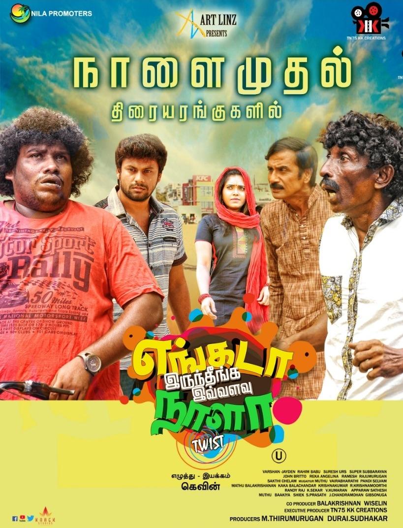Engada Iruthinga Ivvalavu Naala 2021 Tamil 720p HDRip  1.2GB | 408MB Download
