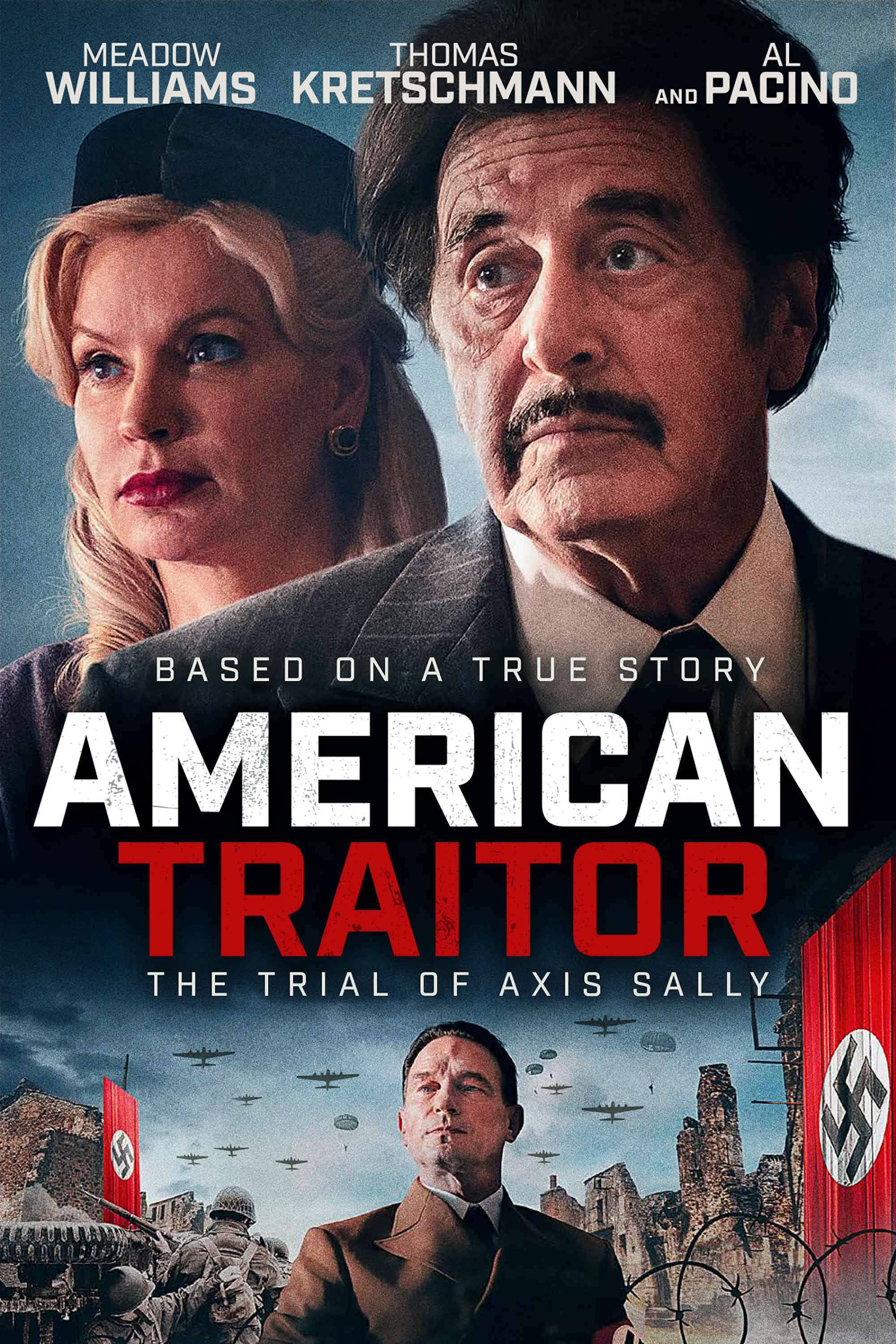 American Traitor The Trial of Axis Sally 2021 English 1080p HDRip 1.4GB