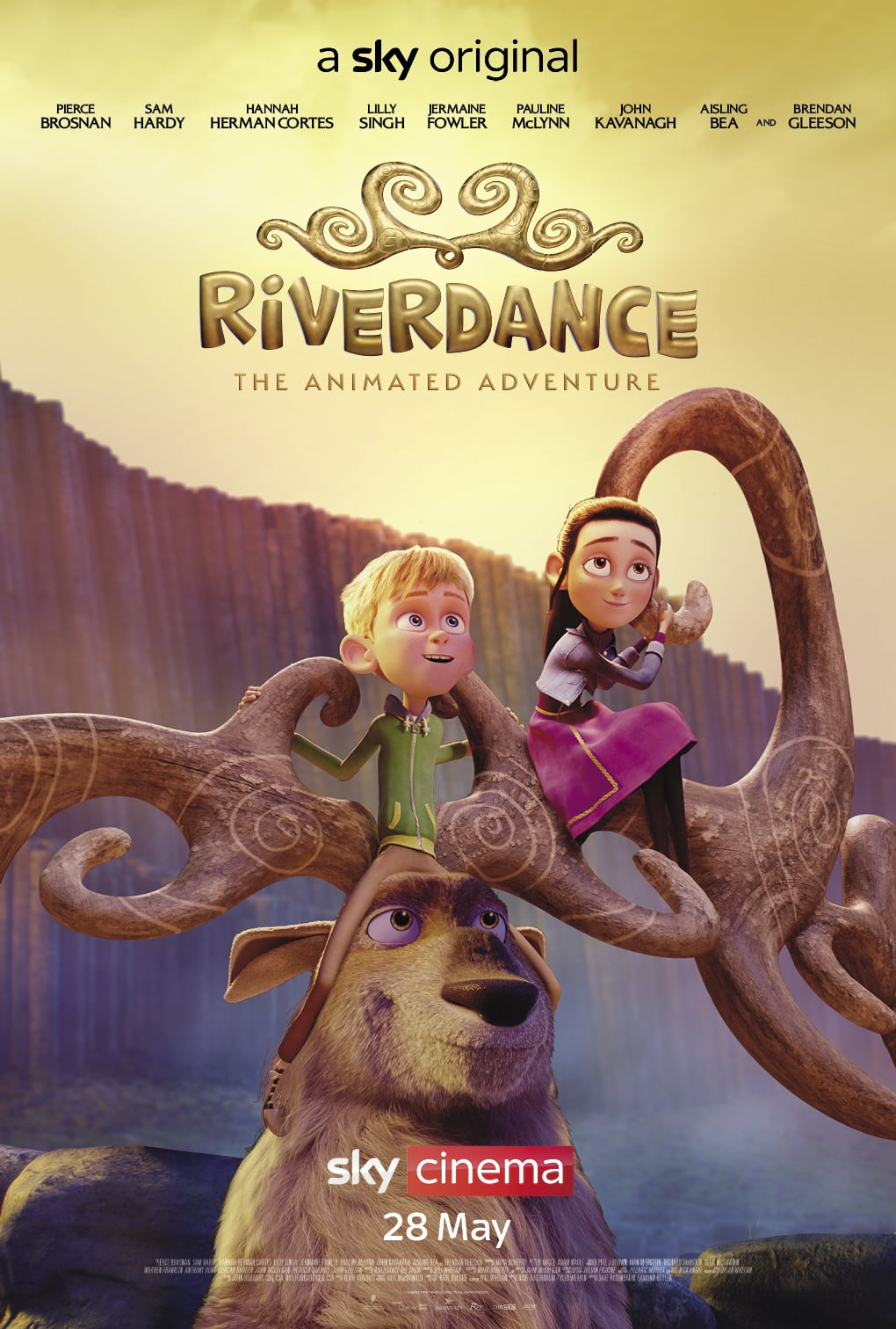 Riverdance The Animated Adventure 2021 English HDRip 300MB Watch Online and Download