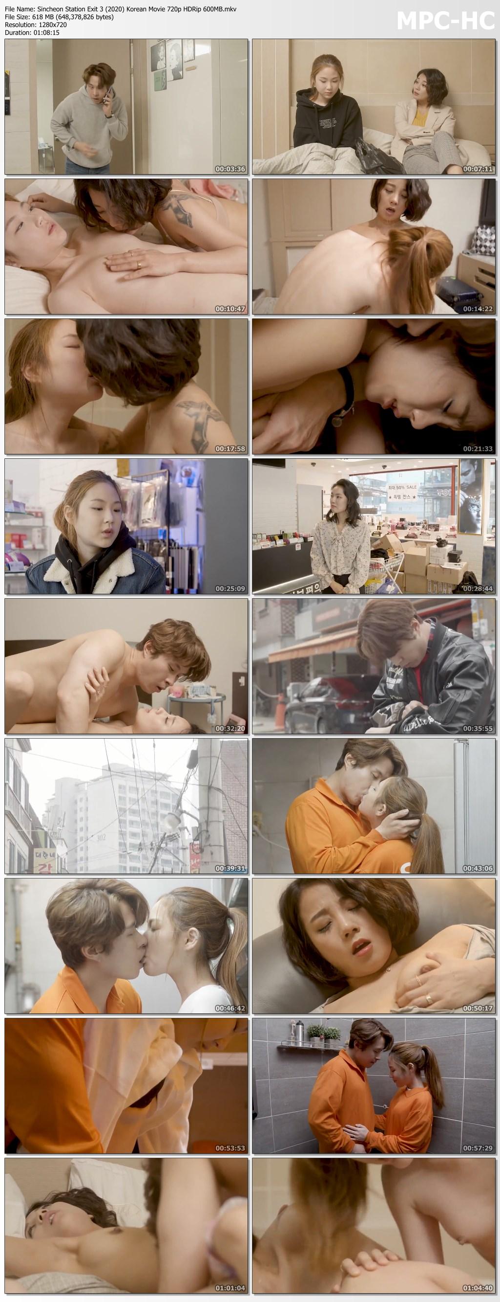 Sincheon Station Exit 3 (2020) Korean Movie 720p HDRip 600MB.mkv thumbs