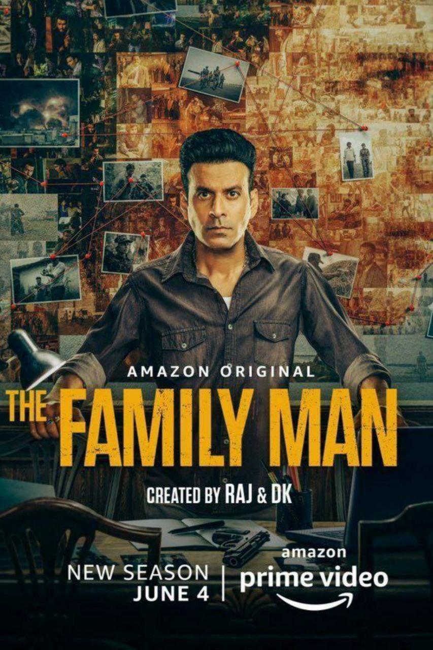 Download The Family Man 2021 S02 Hindi Amazon Original Complete Web Series 480p HDRip 1.2GB
