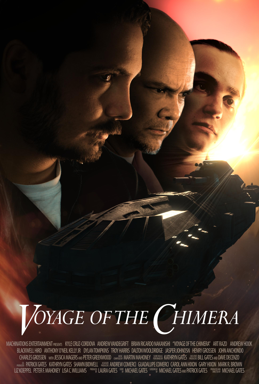 Voyage of the Chimera 2021 English 480p HDRip ESub 272MB Download