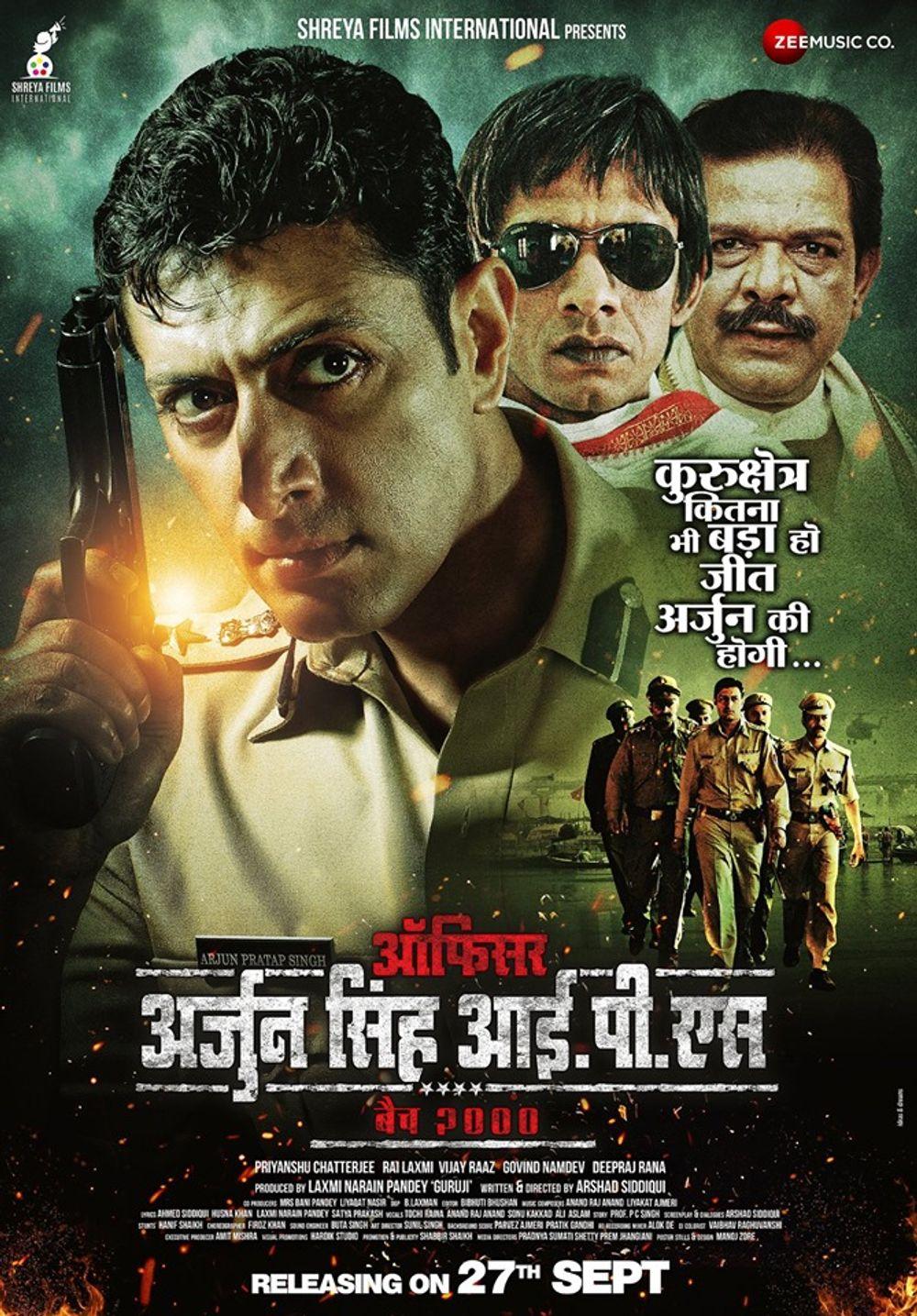 Officer Arjun Singh IPS (2019) Hindi Full Movie 480p HDRip x264 300MB Download