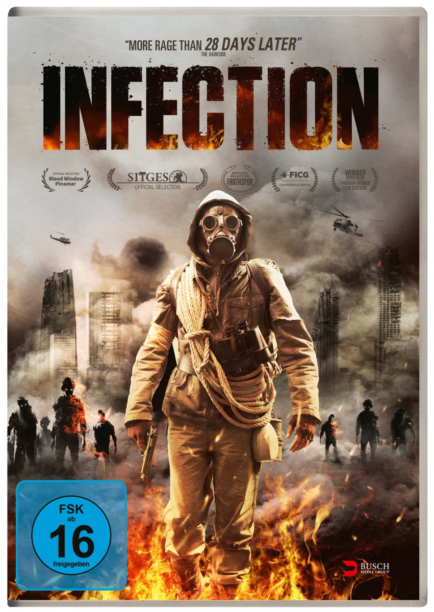 Infection (2019) ORG Hindi Dual Audio 480p BluRay ESubs 350MB Download