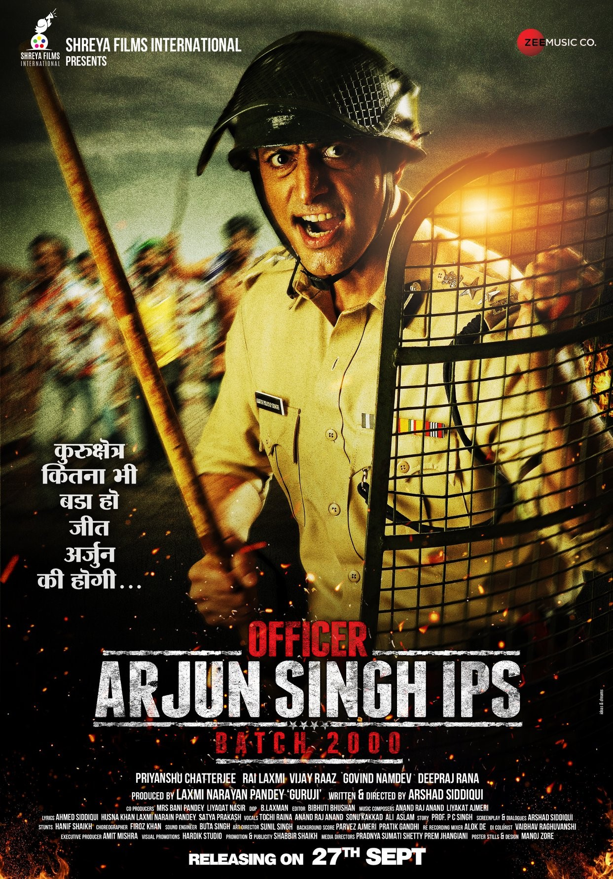 Officer Arjun Singh IPS 2019 Hindi Movie 480p HDRip 310MB Download