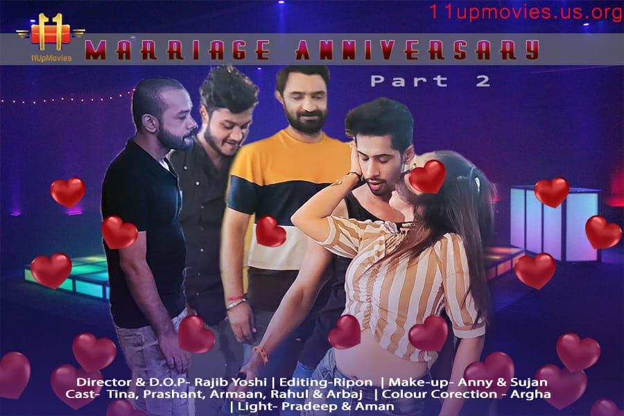 18+ Marriage Anniversary Part 2 2021 11UpMovies Hindi Short Film 720p HDRip 200MB x264 AAC