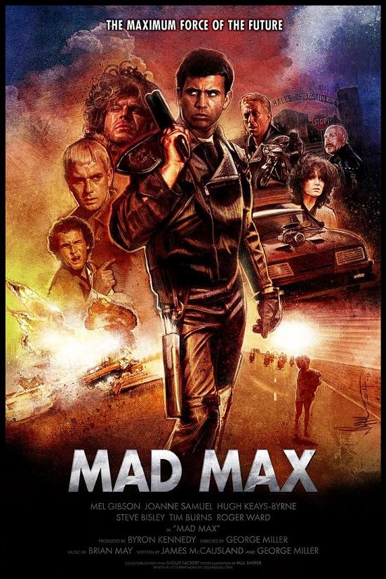 Mad Max 1979 Hindi Dual Audio 480p BluRay ESub 330MB Download