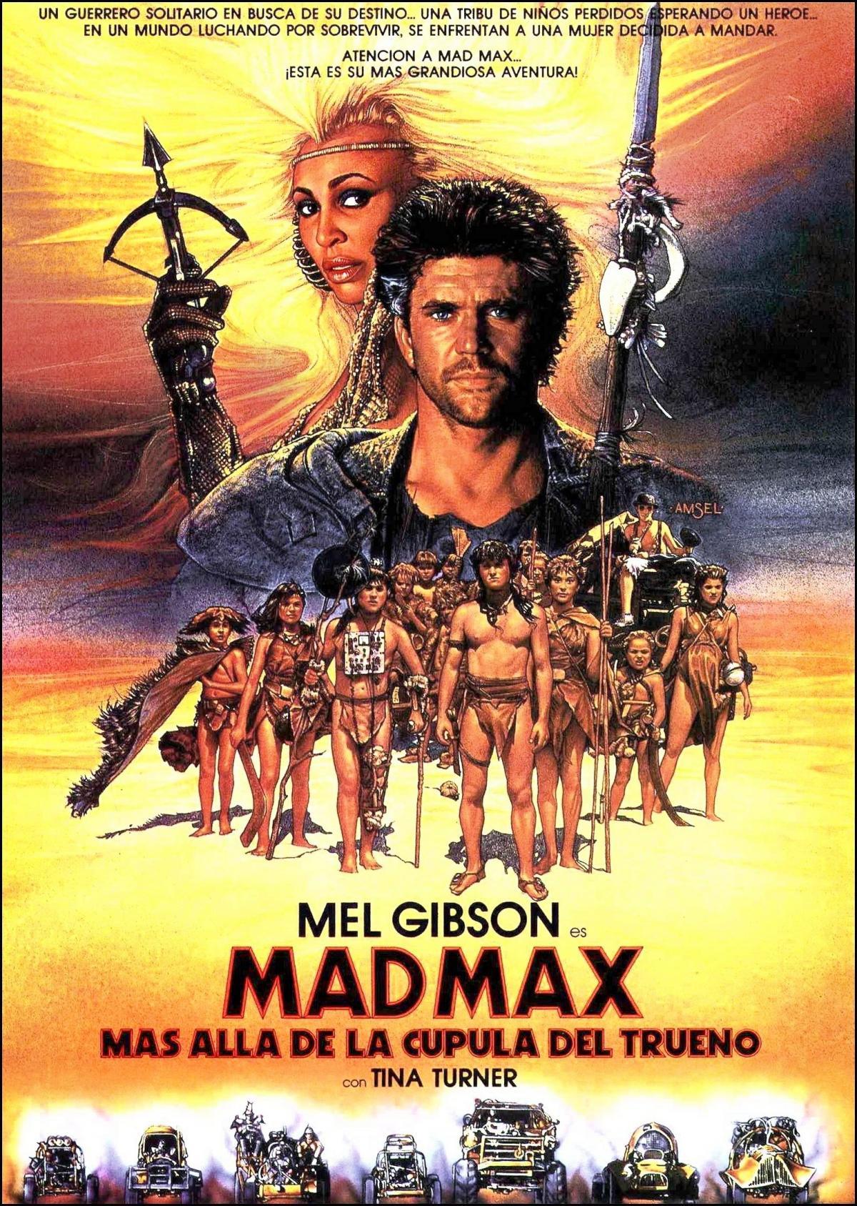 Mad Max Beyond Thunderdome 1985 Hindi Dual Audio 480p BluRay 380MB Download