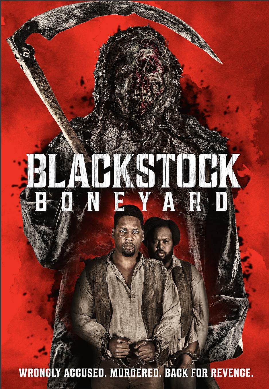 Blackstock Boneyard 2021 English 480p HDRip 250MB Download