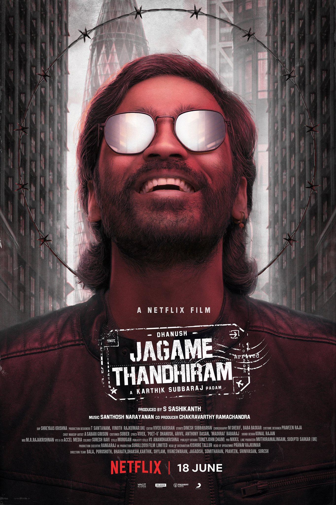 Jagame Thandhiram (2021) HDRip Hindi Full Movie Watch Online Free