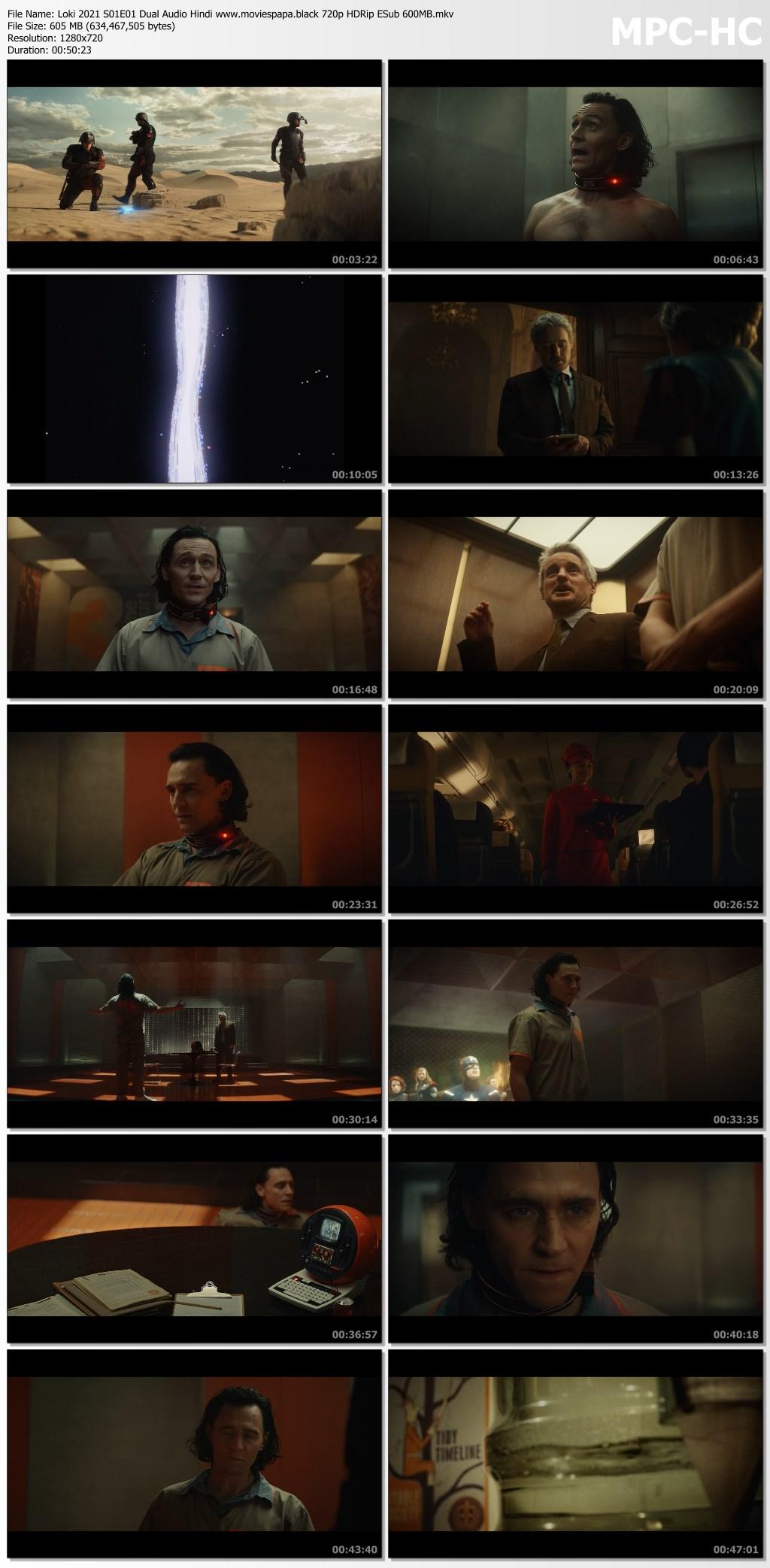 Loki 2021 screenshot HDMoviesFair