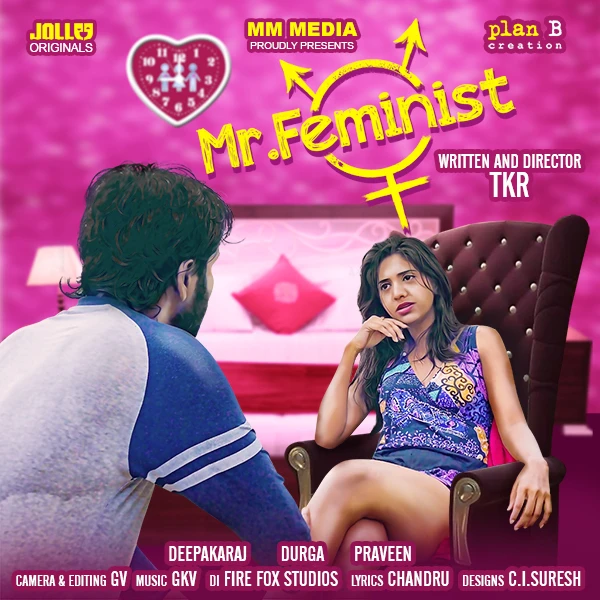 Download Mr. Feminist 2021 Hindi S01 Complete Jollu App Web Series 720p HDRip 300MB