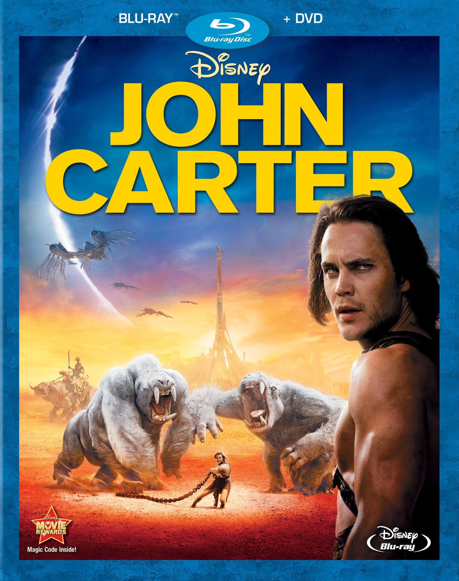 John Carter 2012 Hindi Dual Audio 450MB BluRay 480p ESubs Download