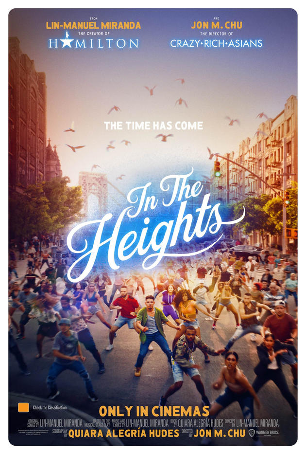 In the Heights 2021 English Movie 480p HDRip ESub 450MB