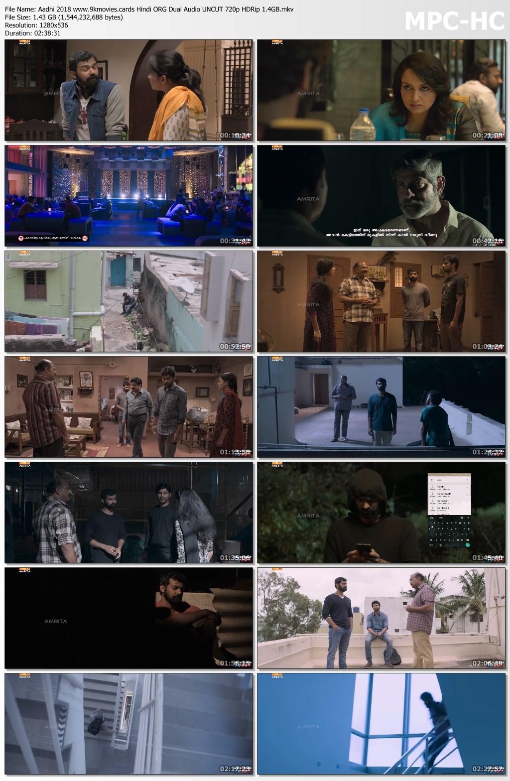 Aadhi Screen Shot 2