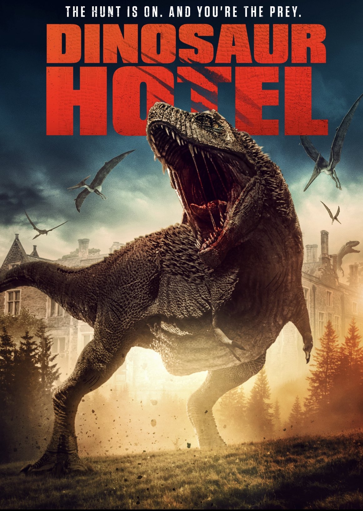 Dinosaur Hotel 2021 English 480p HDRip ESub 250MB Download