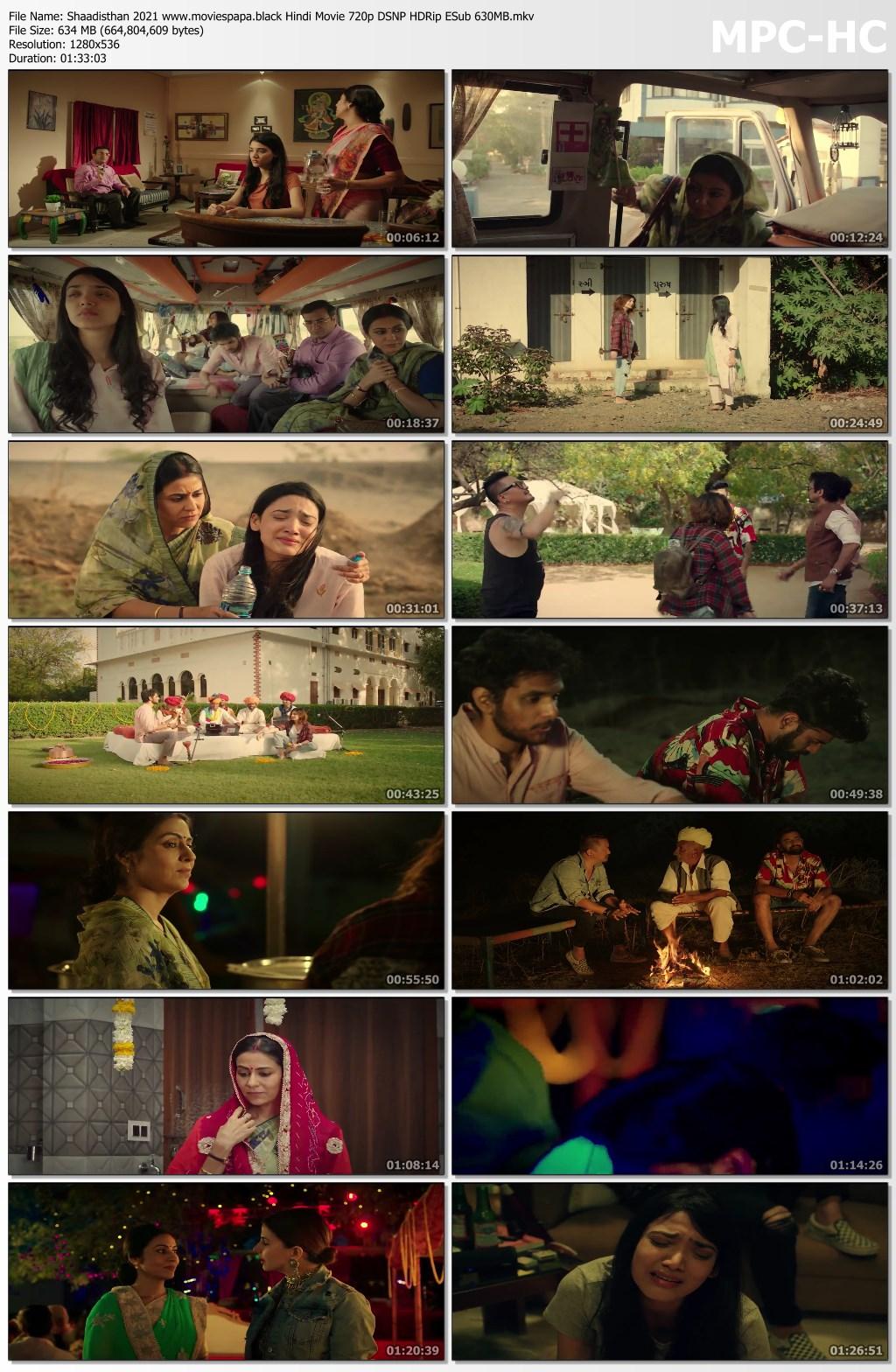 Shaadisthan 2021 screenshot HDMoviesFair