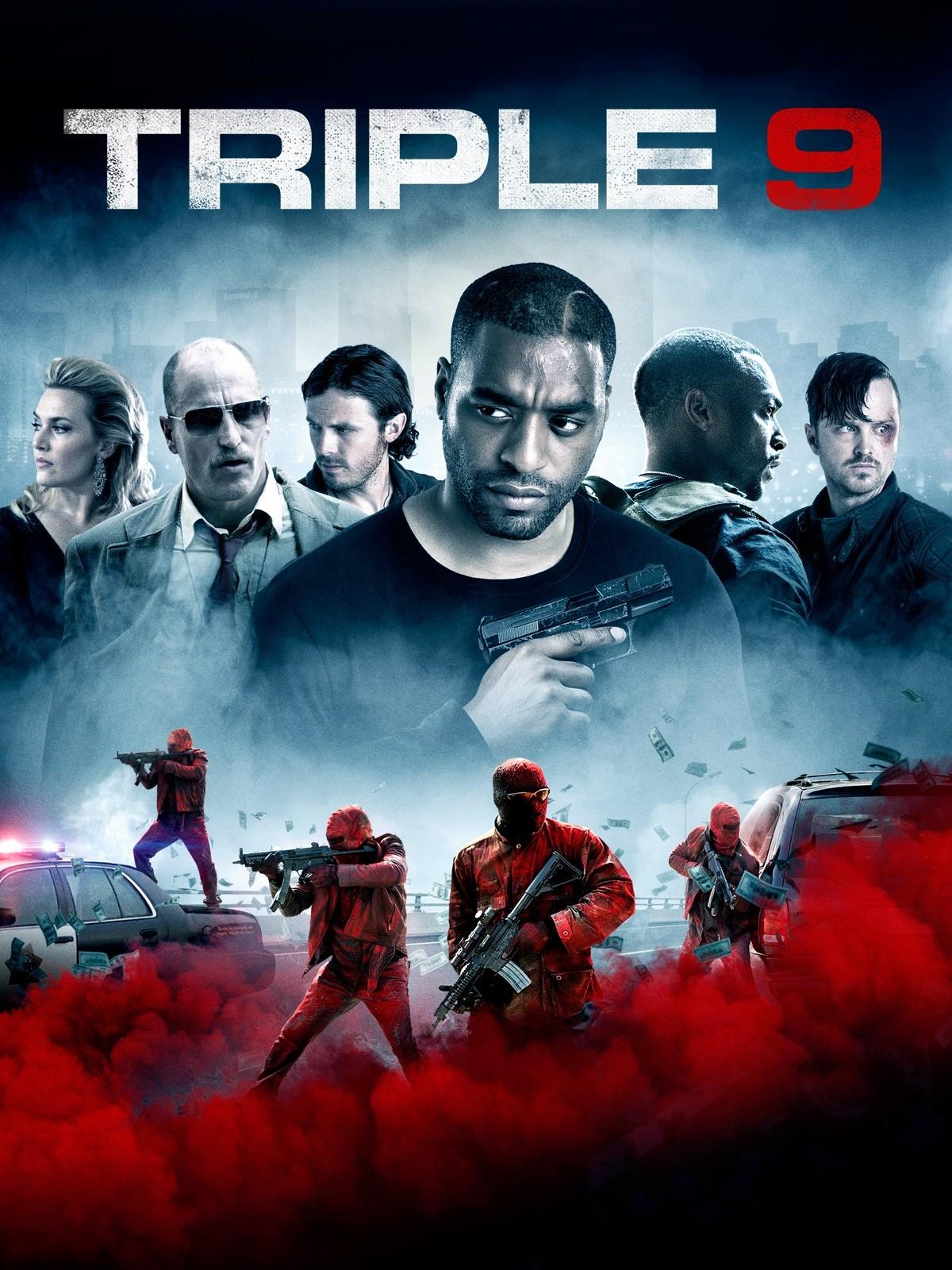 Triple 9 2016 Hindi Dual Audio 720p BluRay 1.1GB Download