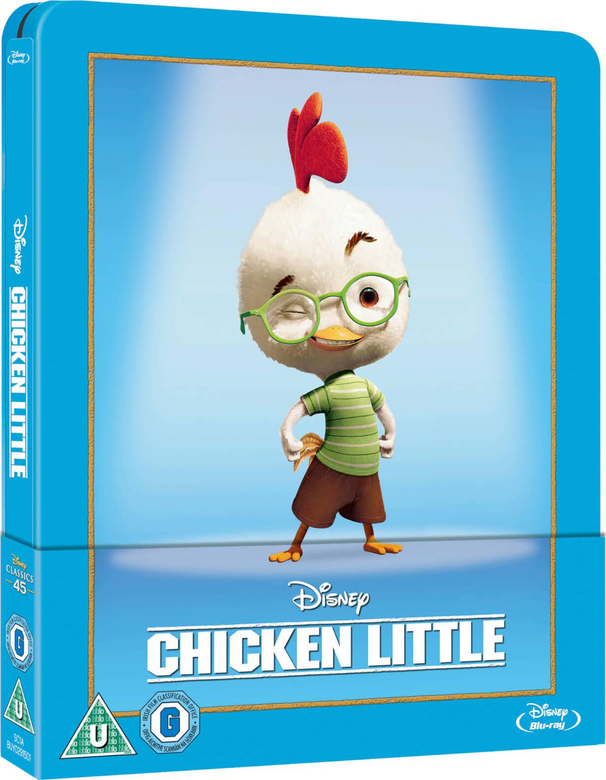 Chicken Little 2005 Hindi Dual Audio 480p BluRay ESub 300MB Download