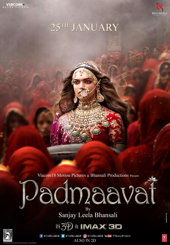 Padmaavat 2018 Hindi Movie 480p BluRay ESub 510MB Download