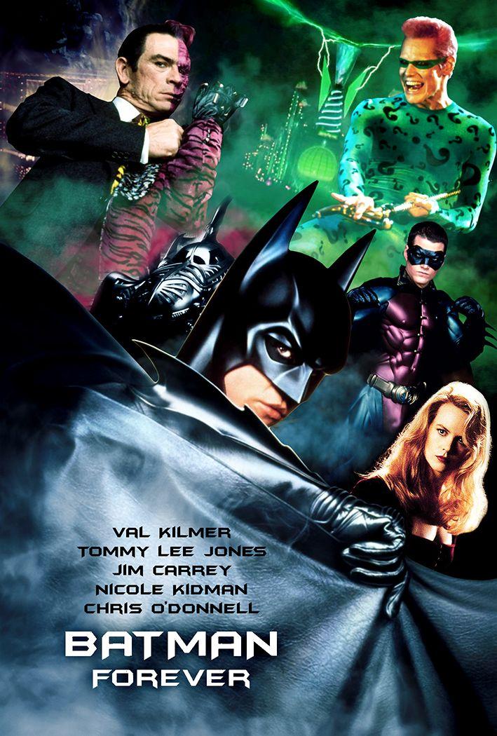 Batman Forever 1995 Hindi Dual Audio 720p BluRay 900MB Download