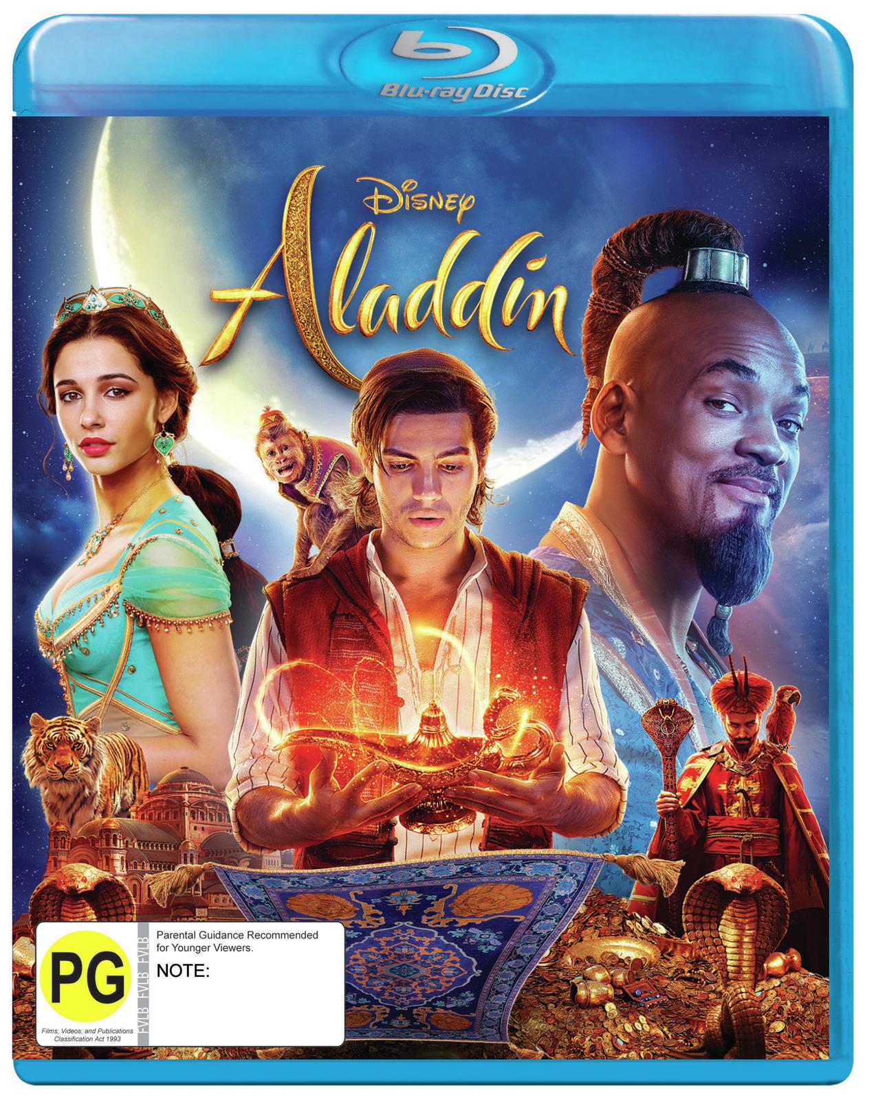 Aladdin 2019 Hindi ORG Dual Audio 480p BluRay ESub 454MB Download