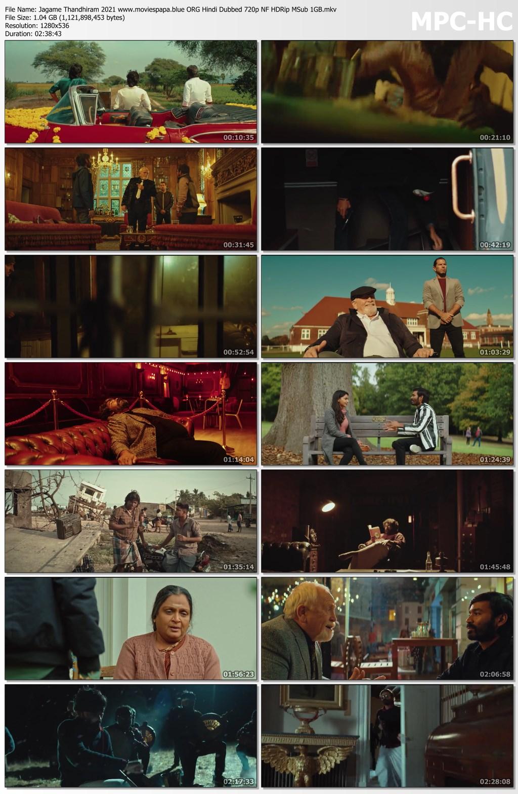 Jagame Thandhiram 2021 screenshot HDMoviesFair