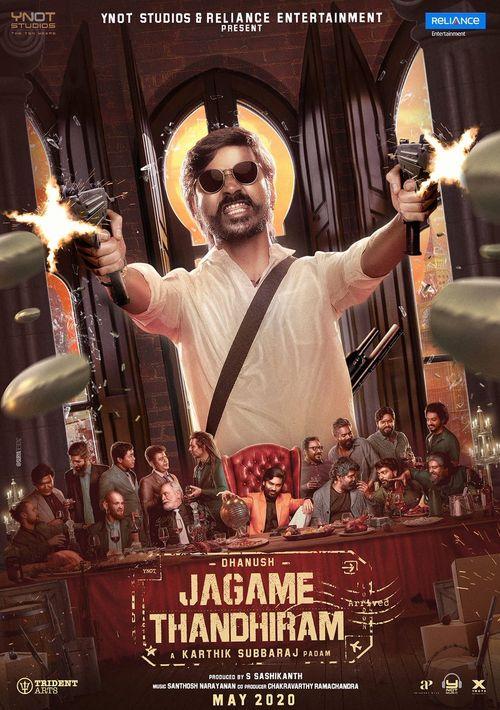 Jagame Thandhiram 2021 Hindi Dubbed ORG 720p HDRip 990MB Download